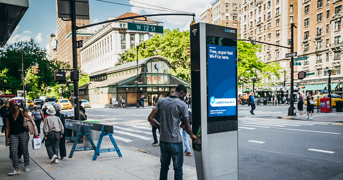 LinkNYC | How to Connect to Wi-Fi